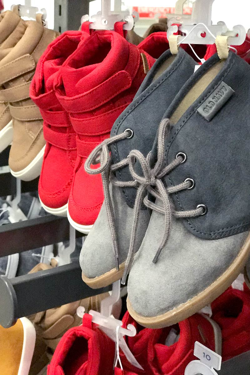 tanger outlets old navy boys shoes