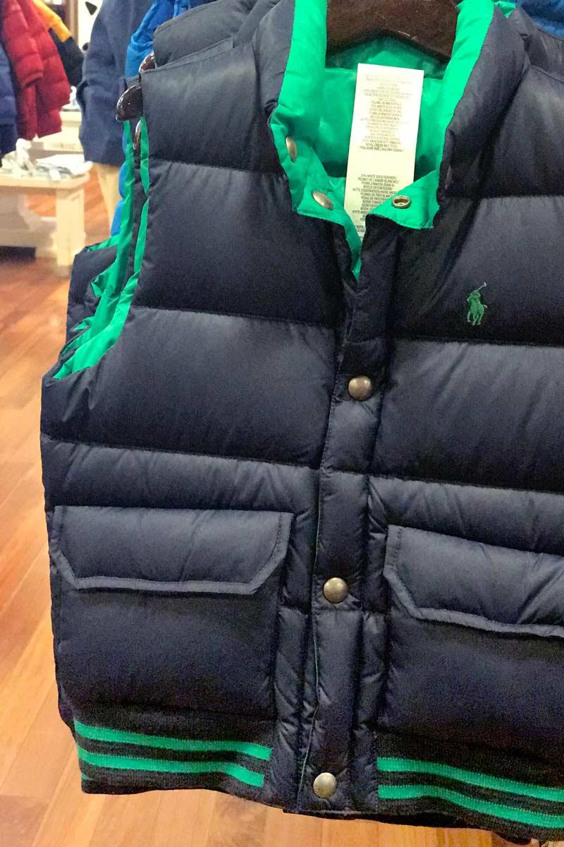 tanger outlets polo ralph lauren boys puffer vest