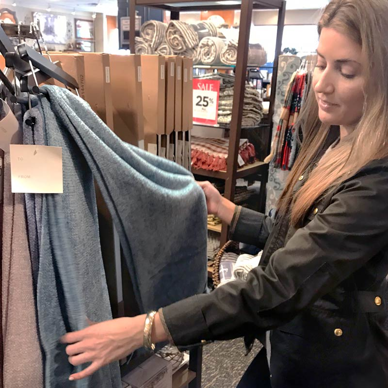 tanger outlets kirklands throw blankets