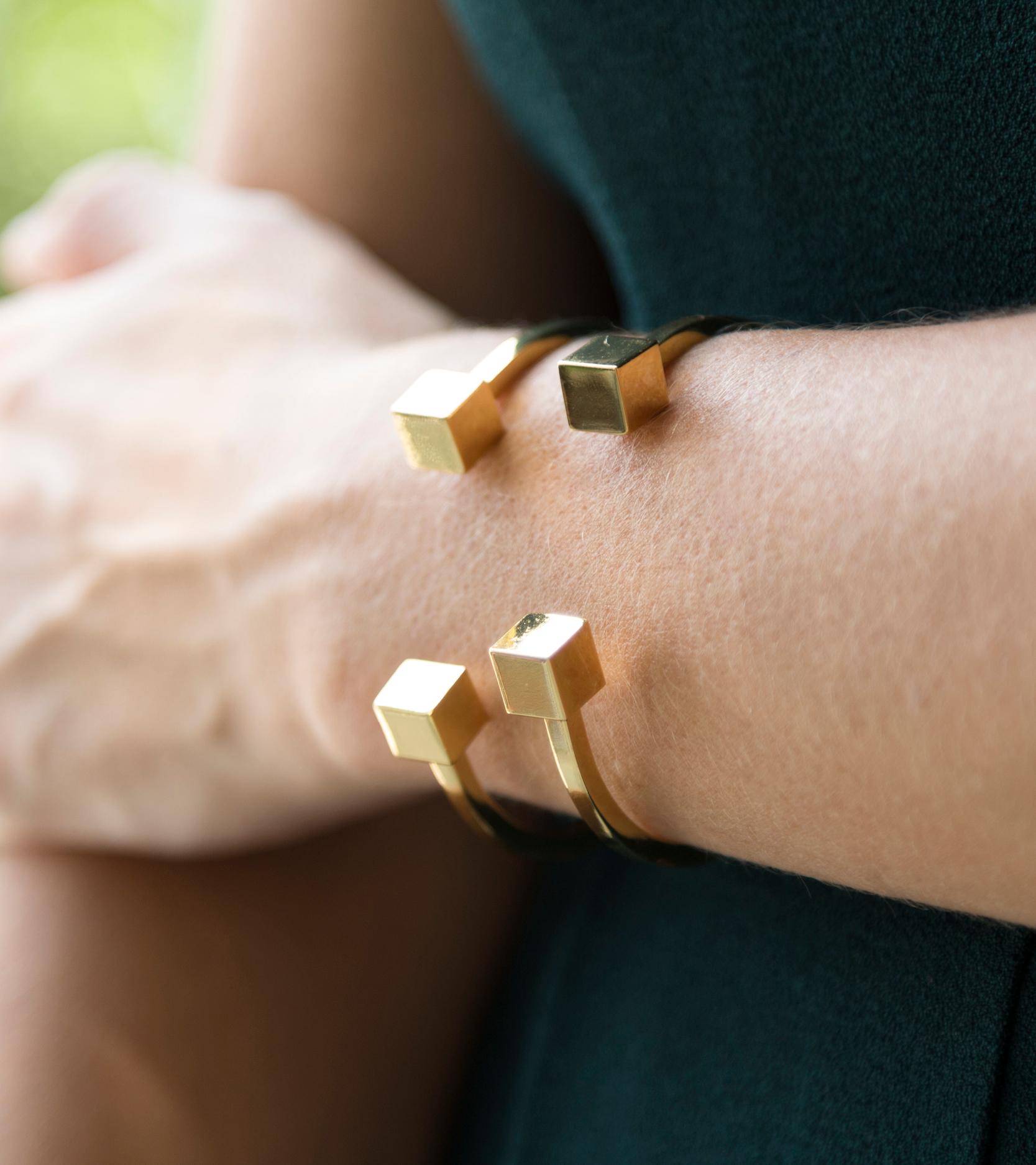 tanger outlets j crew gold bracelet cuffs