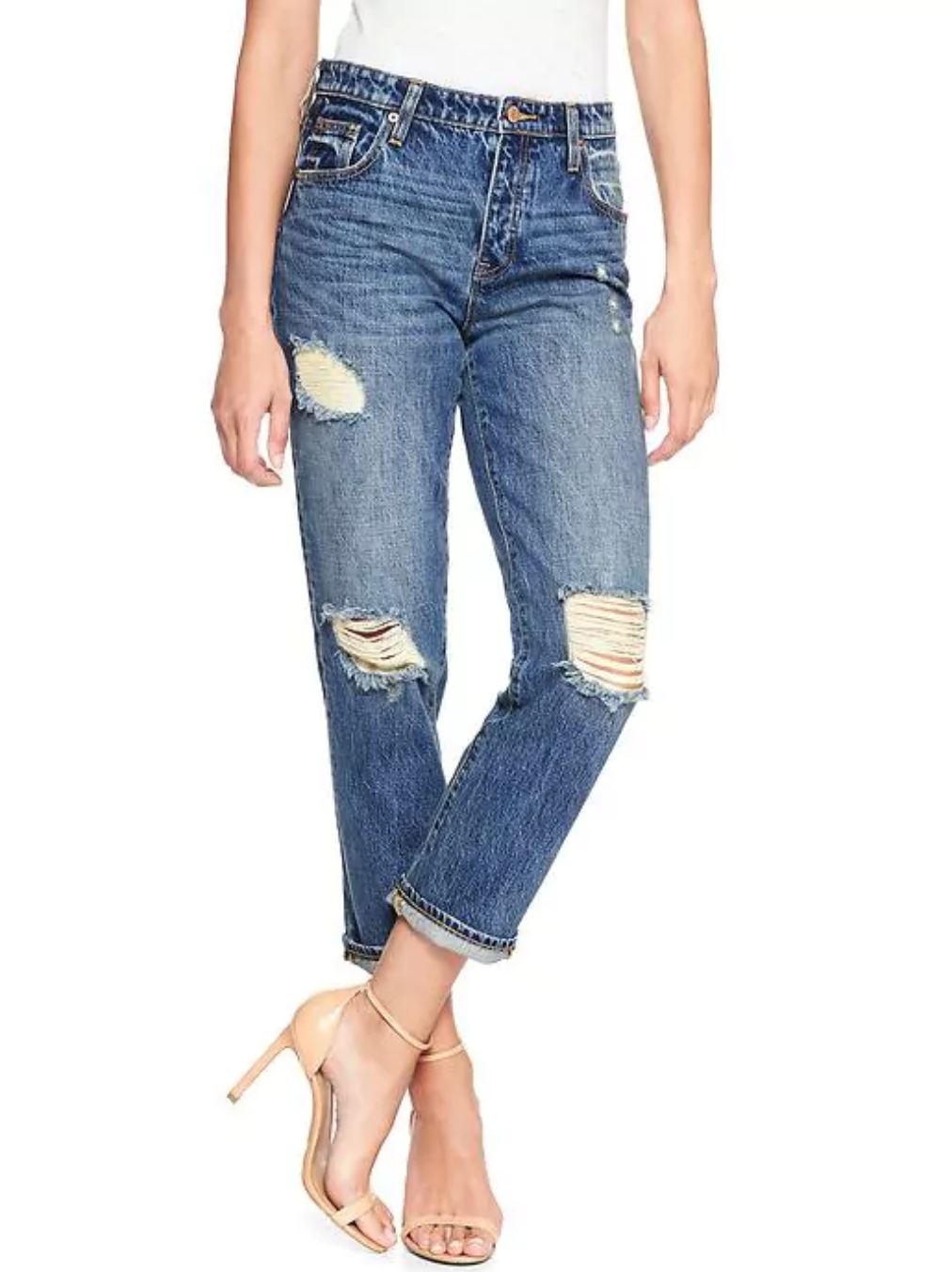 tanger outlets gap vintage distressed jeans