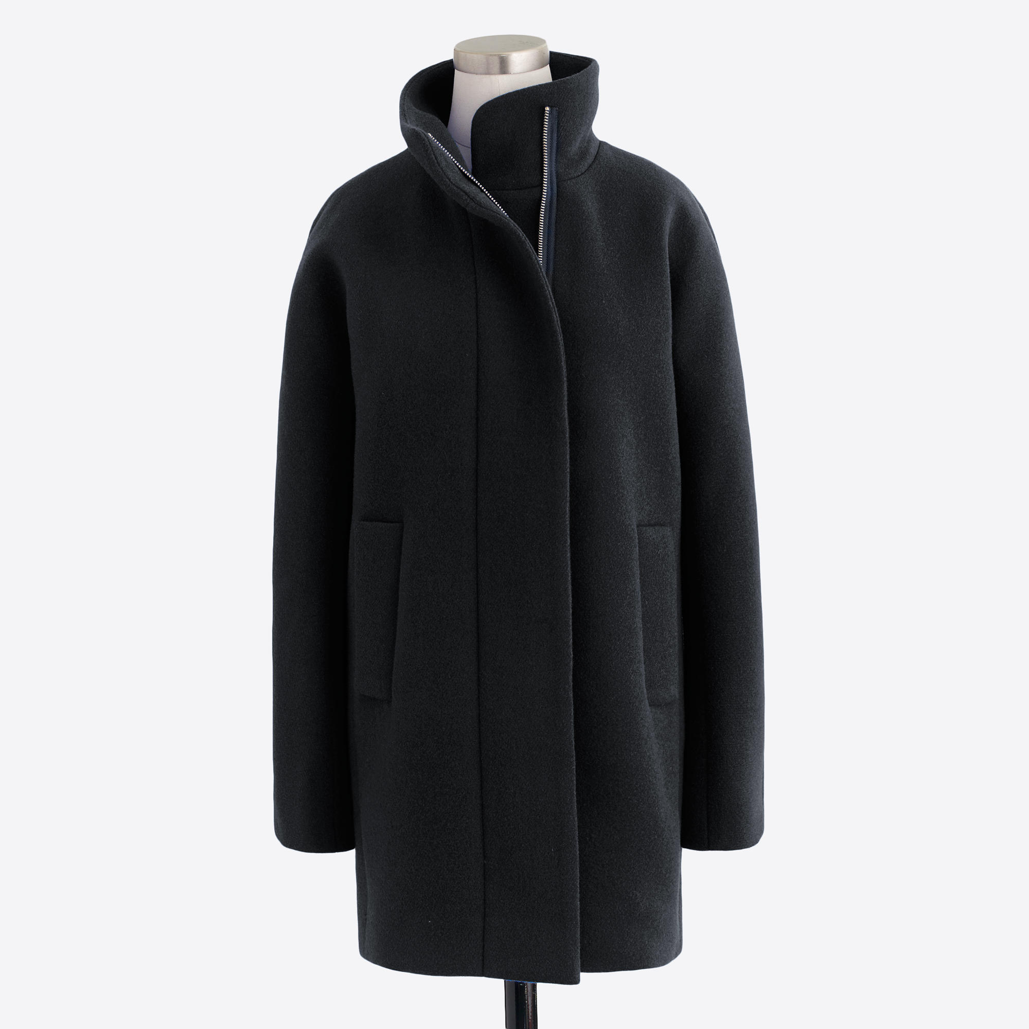 tanger outlets j crew long wool city coat