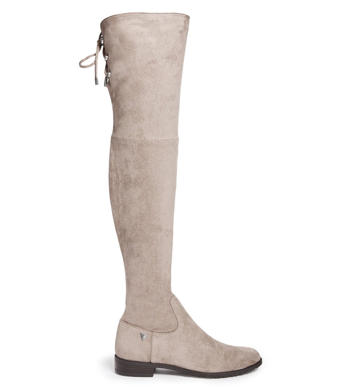 tanger outlets guess taupe over the knee boots