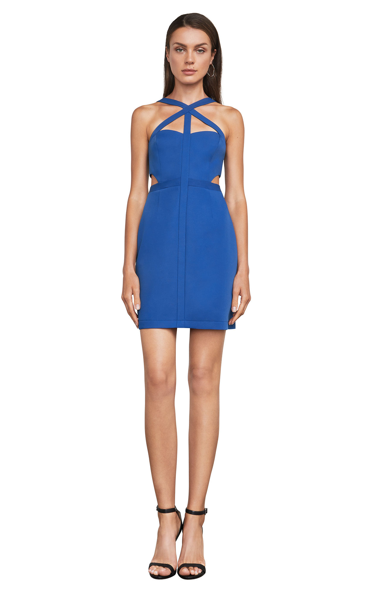 tanger outlets BCBGMAXAZRIA fitted dress