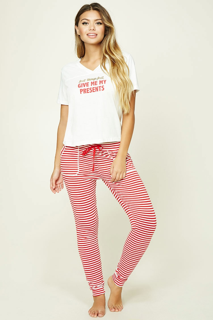 tanger outlets forever 21 holiday presents pajama set