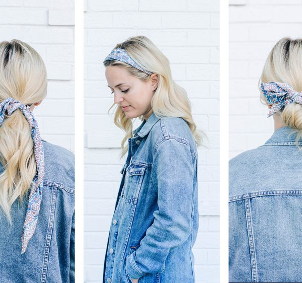 3 Ways to Wear a Scarf in Your Hair