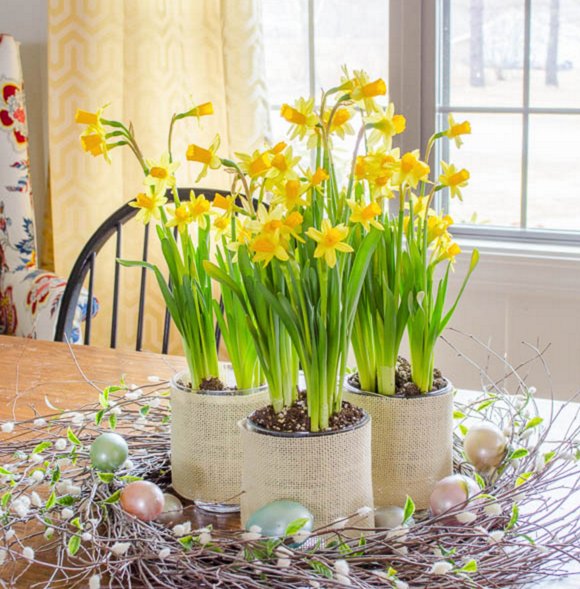 Tanger Mom_Daffodil Centerpiece
