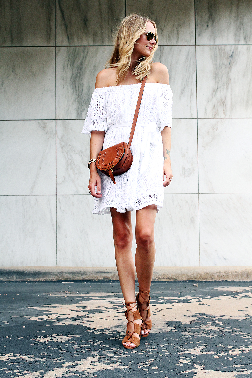 Tanger Outlets_White Dress