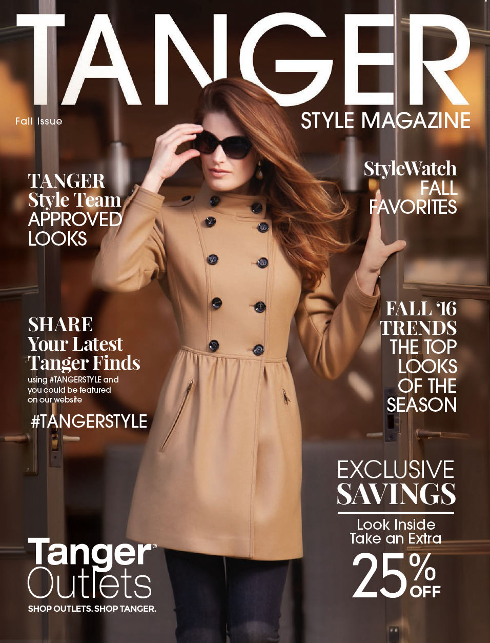 TangerStyle Fall Magazine Cover