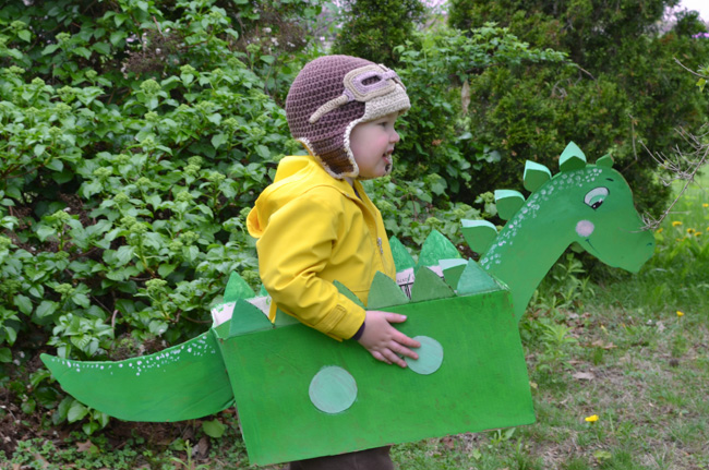 Cardboard Dinosaur (Adventure In A Box)