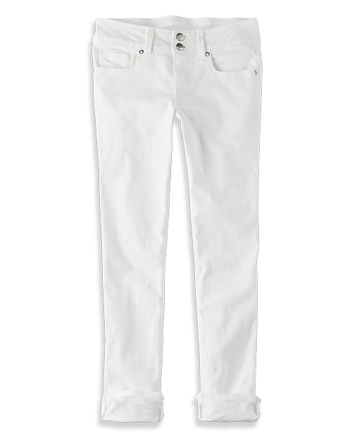 Tanger Outlets American Eagle Outfitters white jeans
