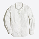 Tanger Outlets J.Crew Factory white button down