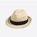 Tanger Outlets J.Crew Factory straw hat
