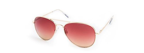 Tanger Outlets Express Factory Outlet pink aviator sunglasses