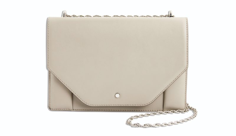 Tanger Outlets taupe bag