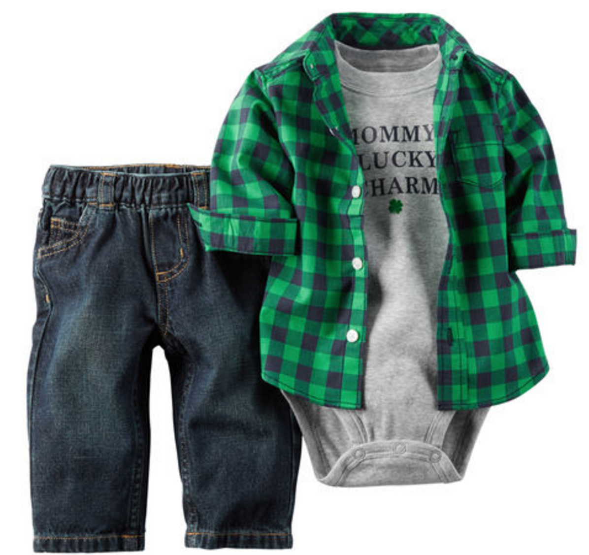 Tanger Outlets Gap Factory boy st. patricks day outfit