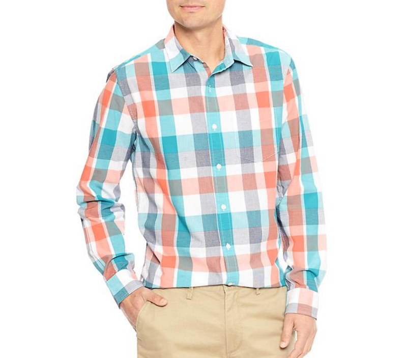 Tanger Outlets Gap Factory Store pastel button down