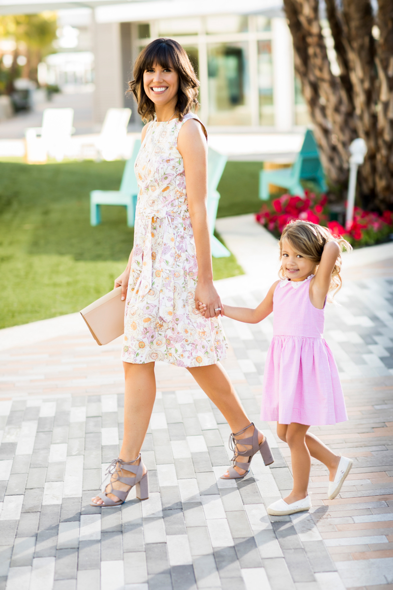 Tanger Outlets Brooks Brothers Factory Store floral dress