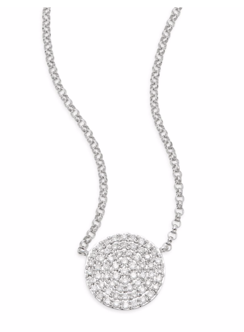 Tanger Outlets Saks OFF 5th diamond necklace