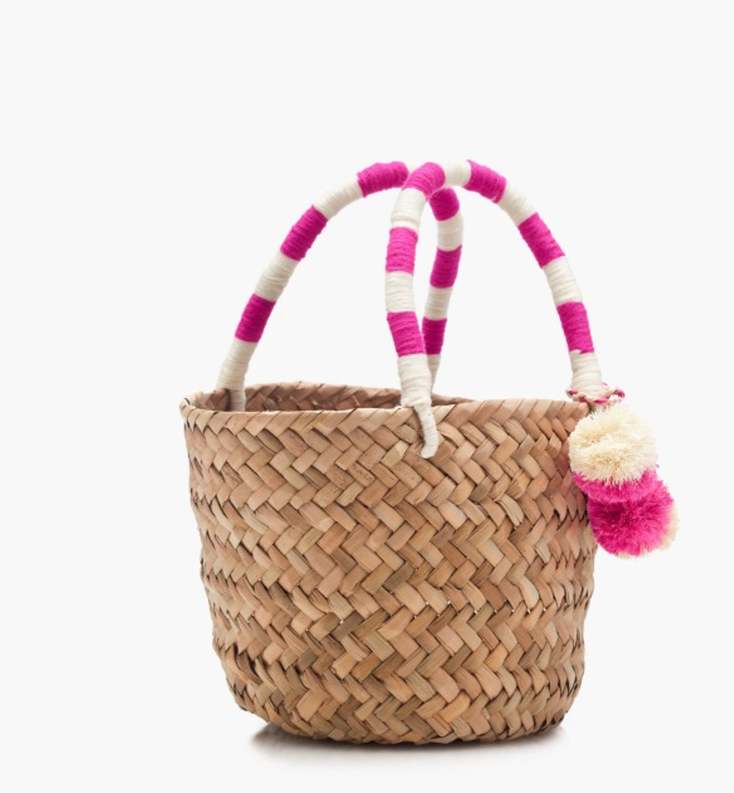 Tanger Outlets J.Crew Factory straw bag