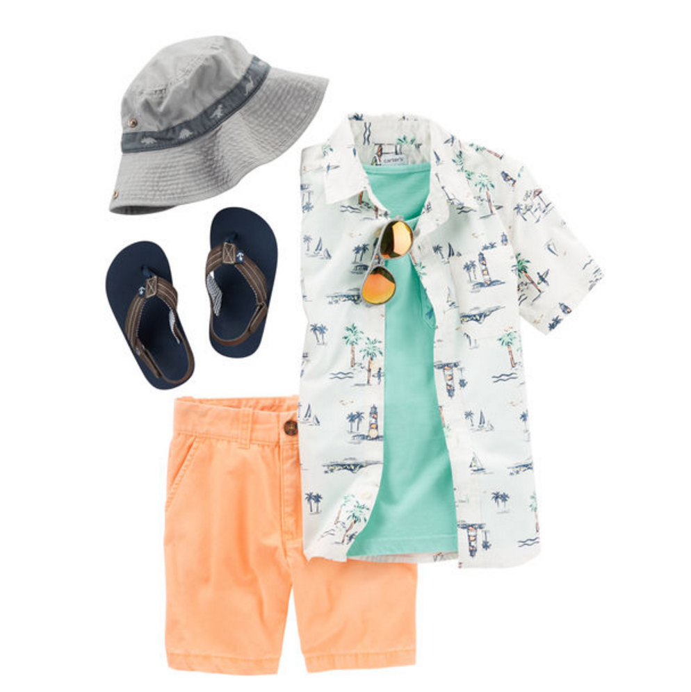 Tanger Outlets Carter's boys outfit