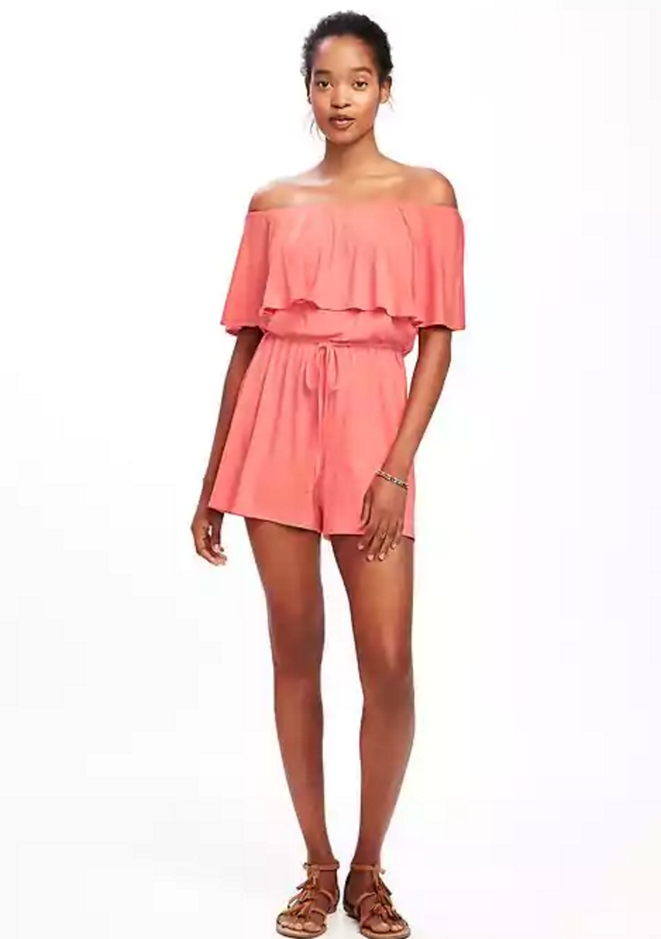 Tanger Outlets Old Navy Outlet off the shoulder romper