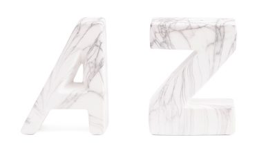Tanger Outlets T.J. Maxx marble bookends
