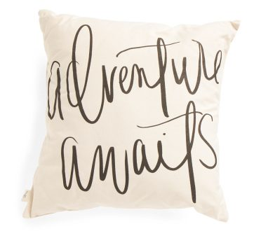 Tanger Outlets T.J. Maxx throw pillow