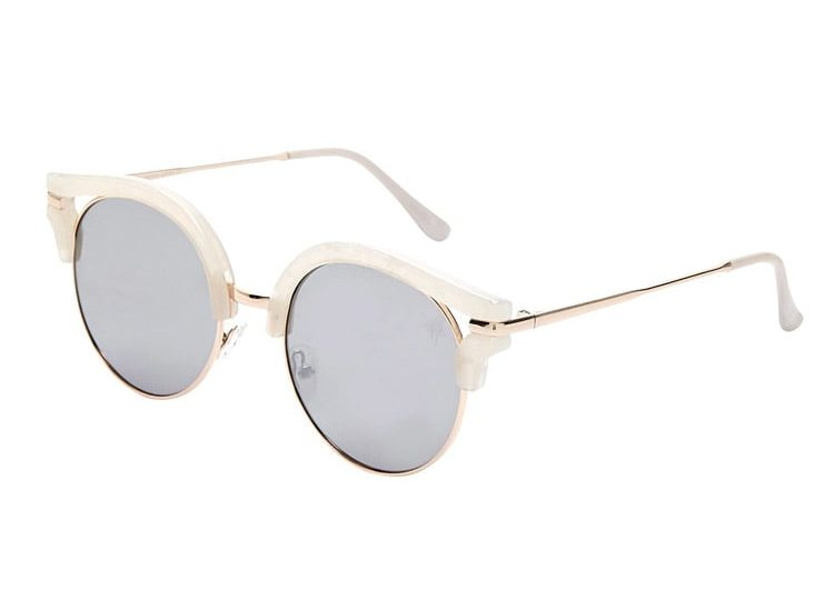 Tanger Outlets Forever 21 marble sunglasses