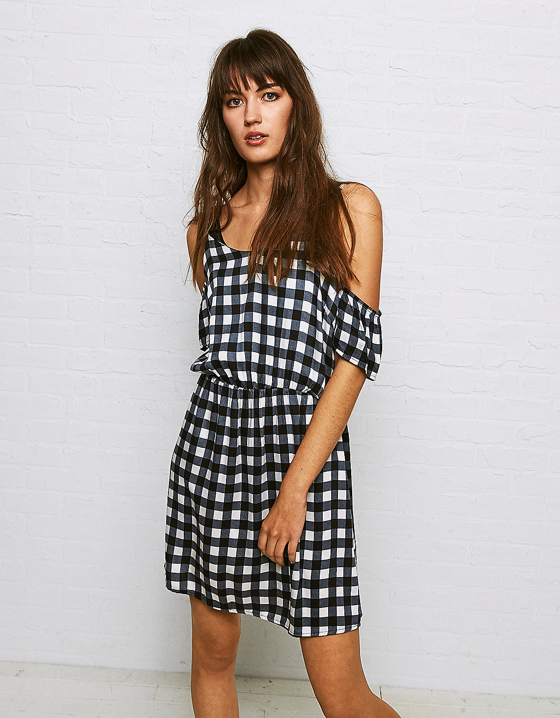 Tanger Outlets American Eagle Outfitters gingham dress
