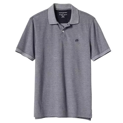 Tanger Outlets Banana Republic Factory Store grey polo