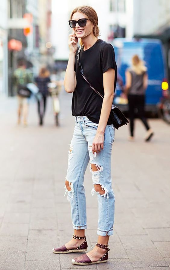 tanger outlets distressed jean inspiration
