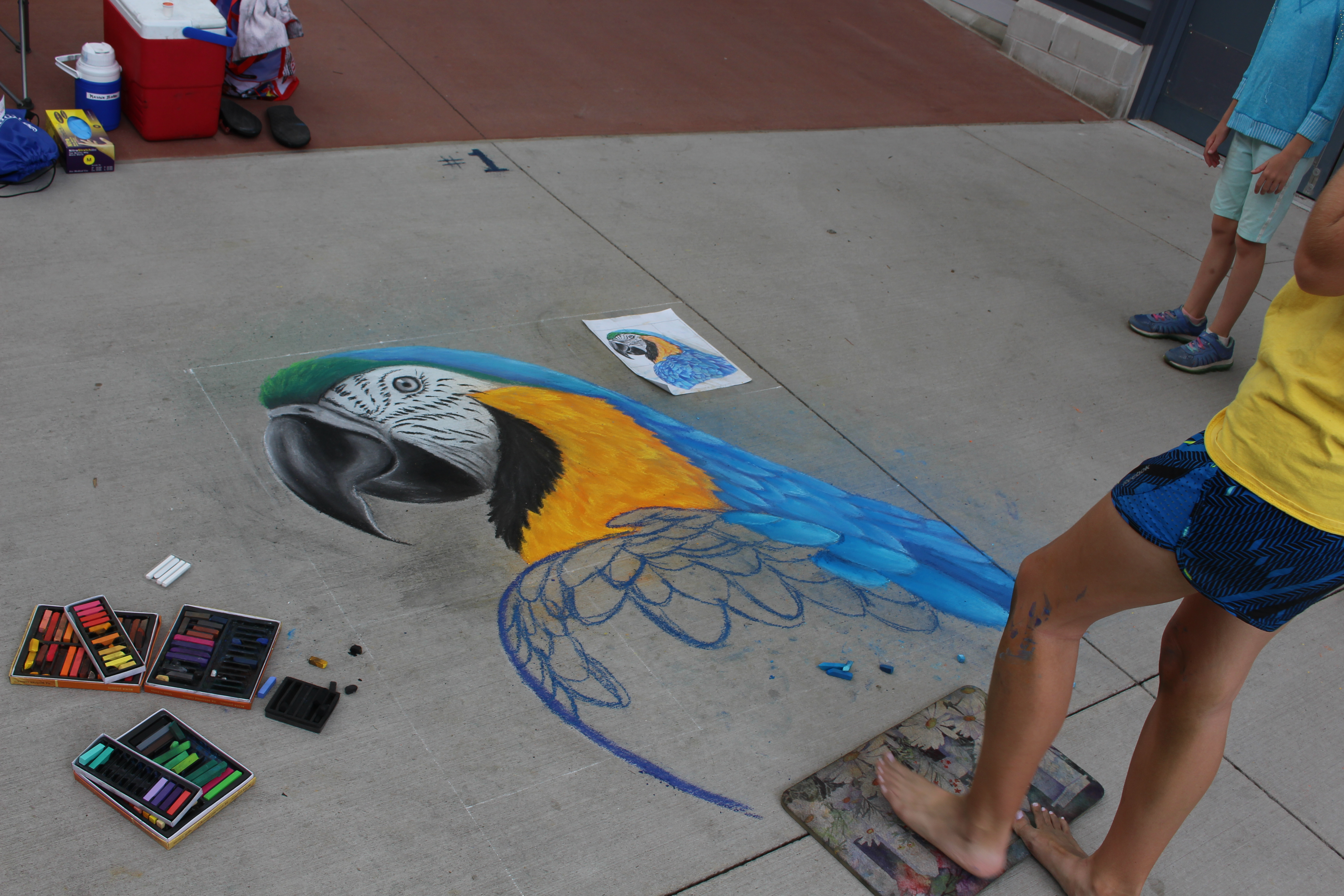 Tanger Outlets West Michigan Chalk Art Festival