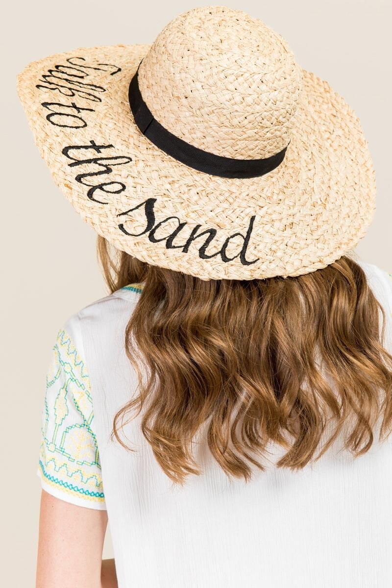 Tanger Outlets franceca's talk to the sand sun hat