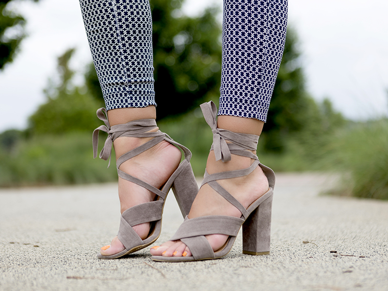 Tanger Outlets Forever 21 strappy heels