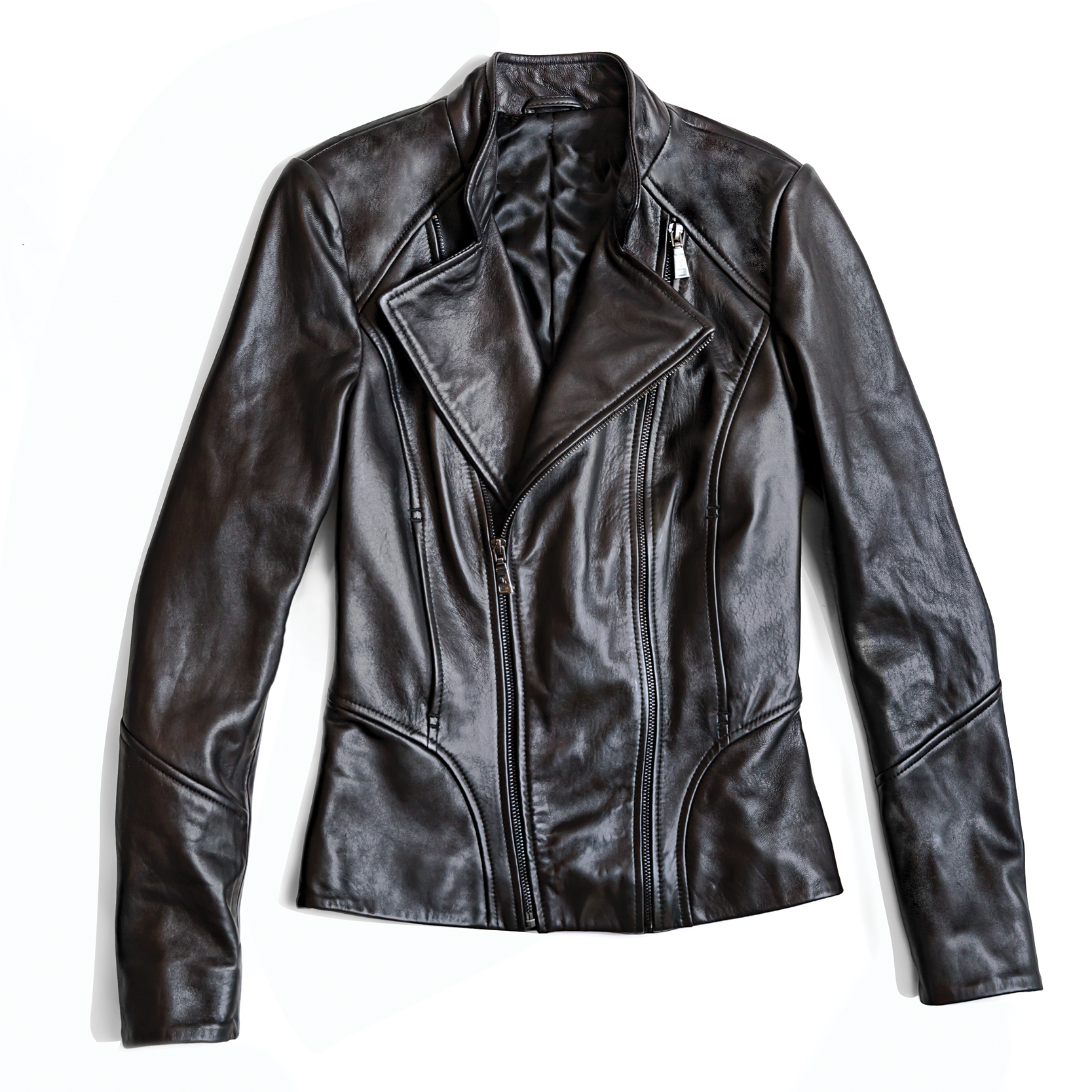 Tanger Outlets Saks OFF 5th black moto jacket