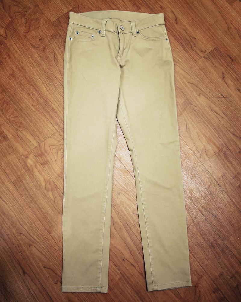 Tanger Outlets Banana Republic Factory Store khaki chino pants