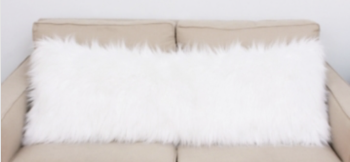 Tanger Outlets Kirkland's faux fur body pillow
