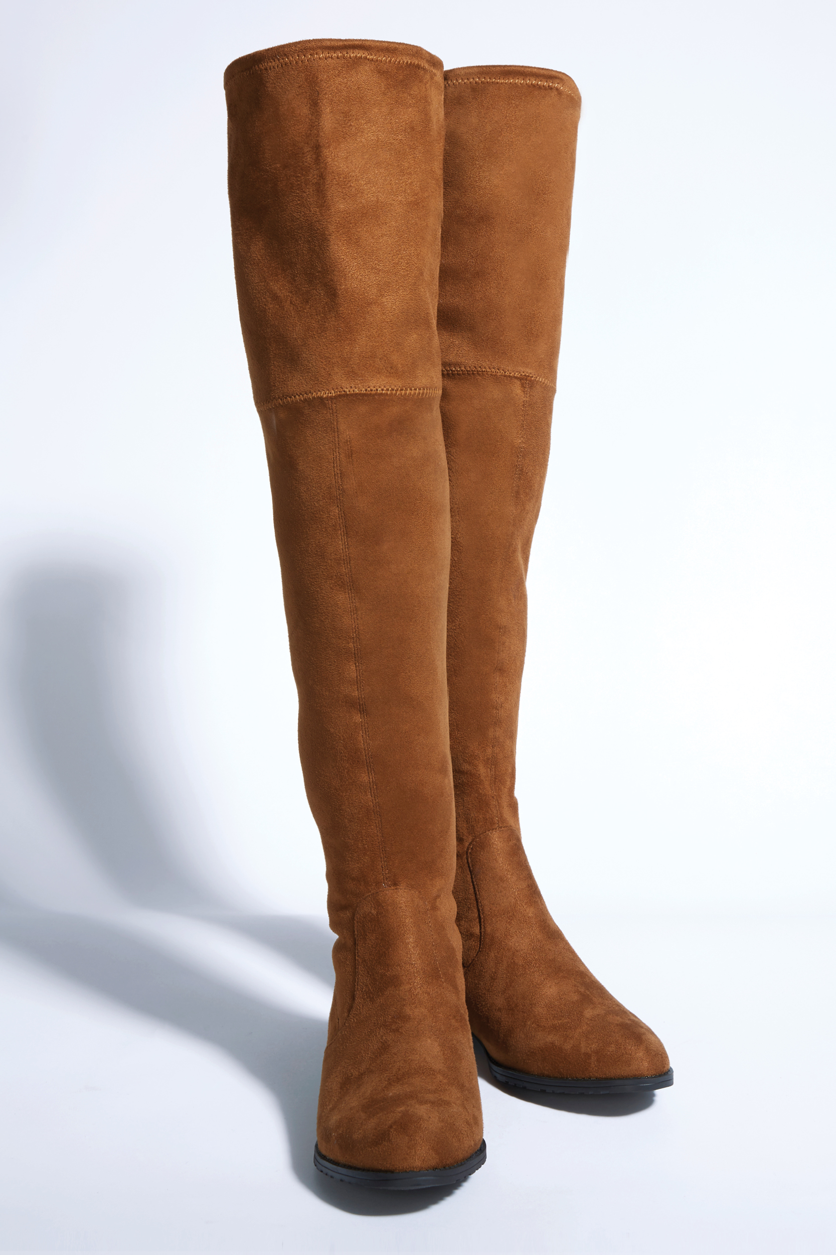 Tanger Outlets GUESS Factory Store brown over the knee boots