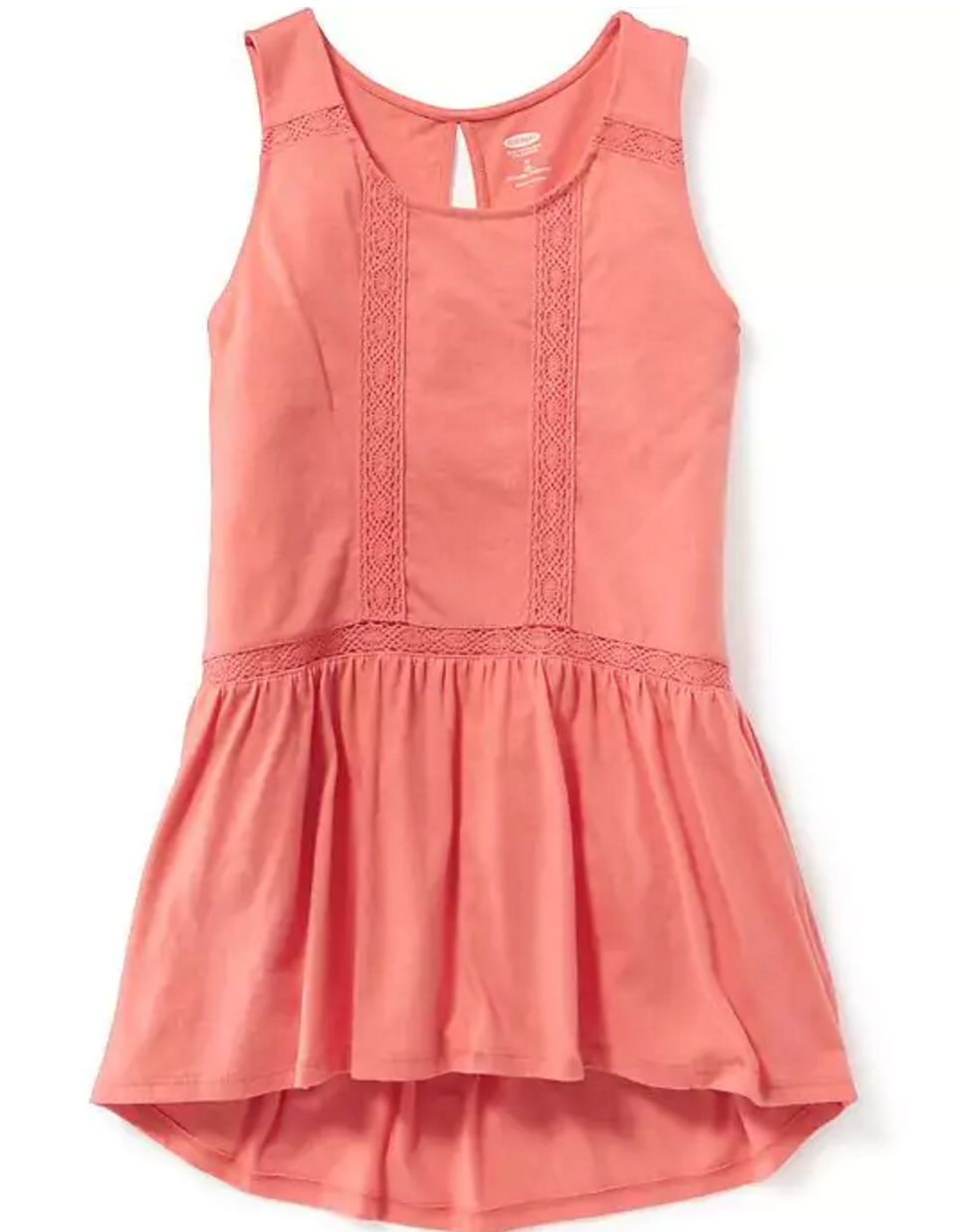 Tanger Outlets Old Navy Outlet girl's peplum tank top