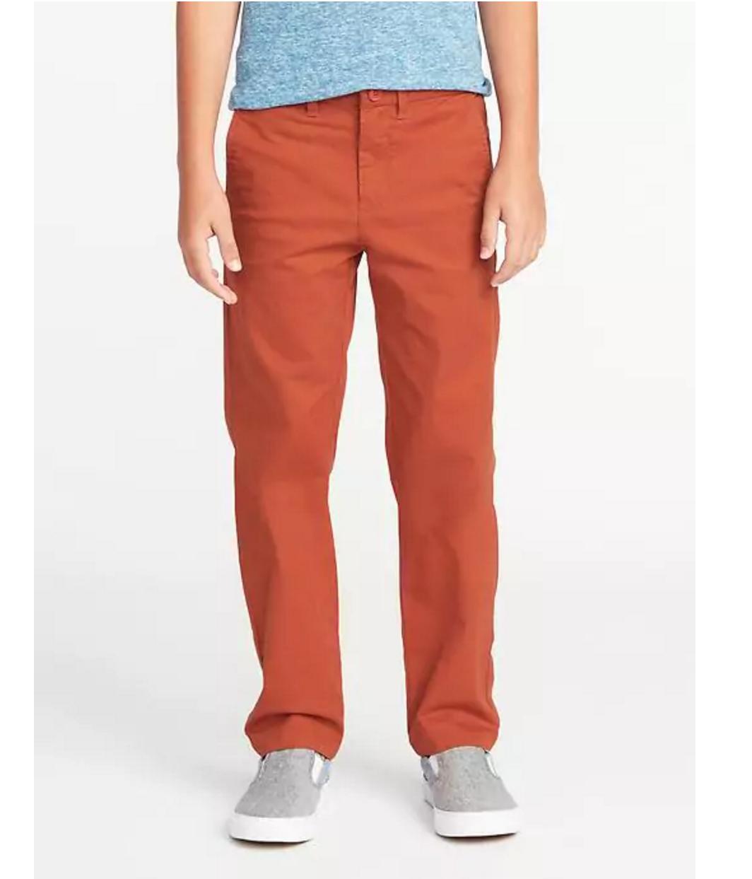 Tanger Outlets Old Navy Outlet boy's slim khaki pants