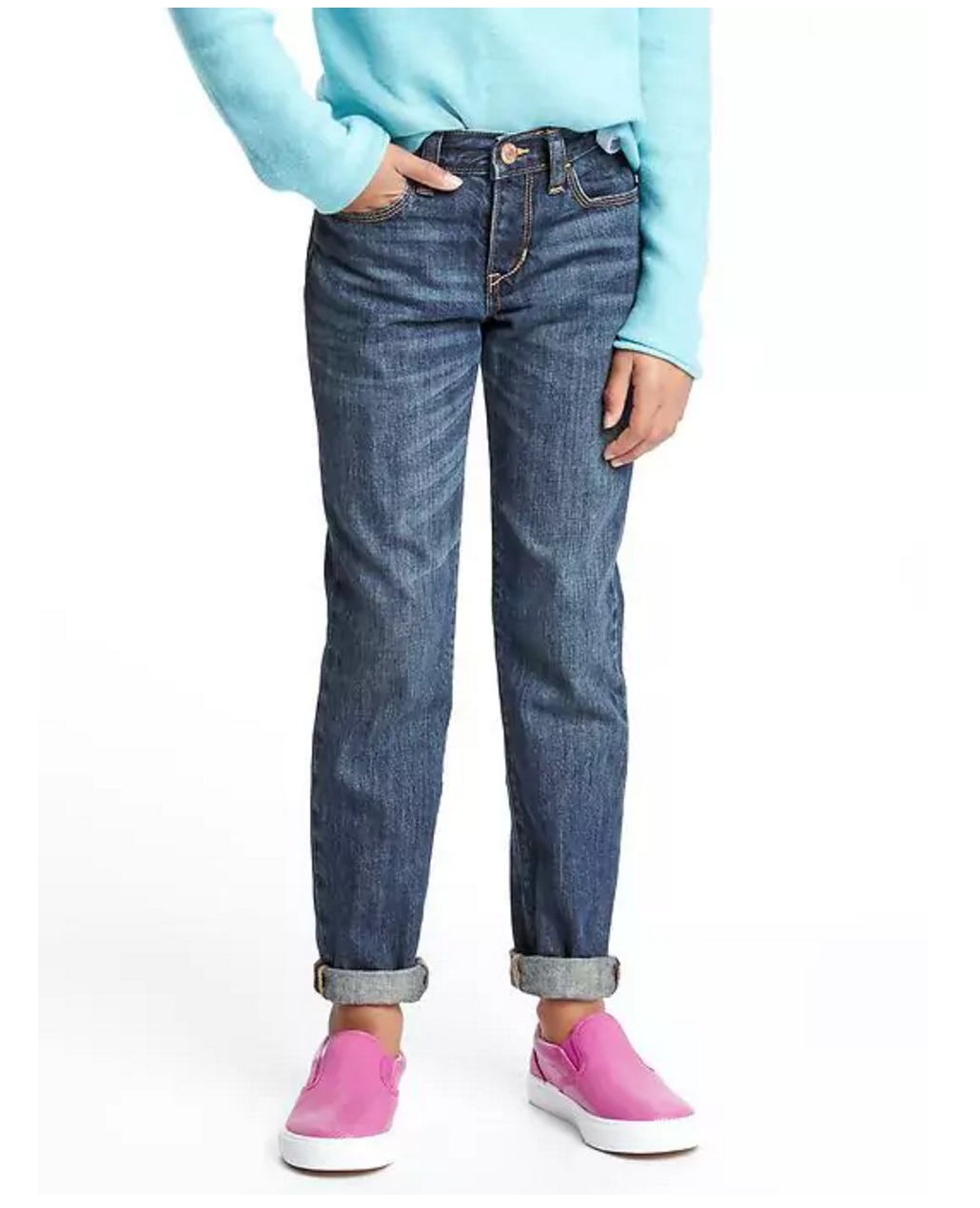 Tanger Outlets Old Navy girl's boyfriend jeans