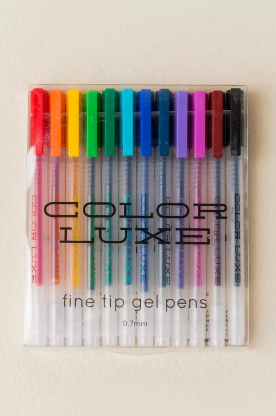 Tanger Outlets francesca's color gel pens