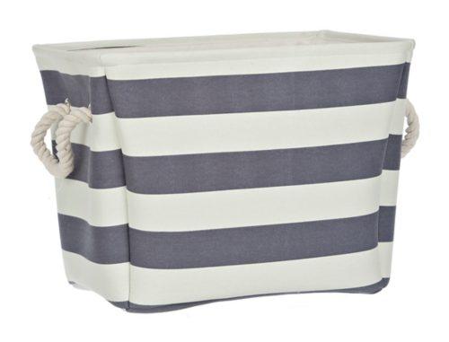 Tanger Outlets Kirkland's striped storage bag