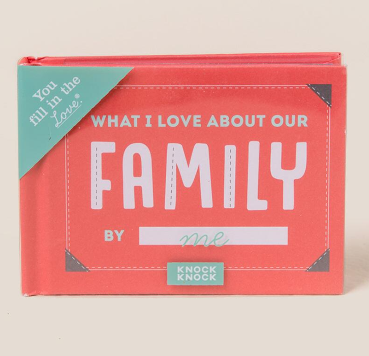 tanger outlets francescas family fill in the blank theme book