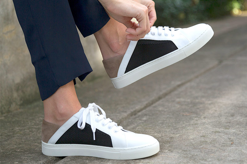 tanger outlets saks off fifth dimensional hip sneakers