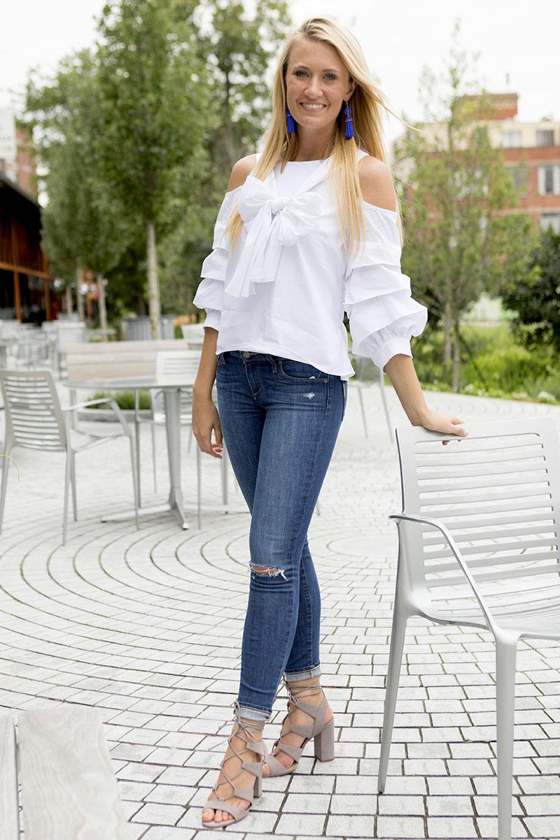 tanger outlets saks off fifth medium wash jeans
