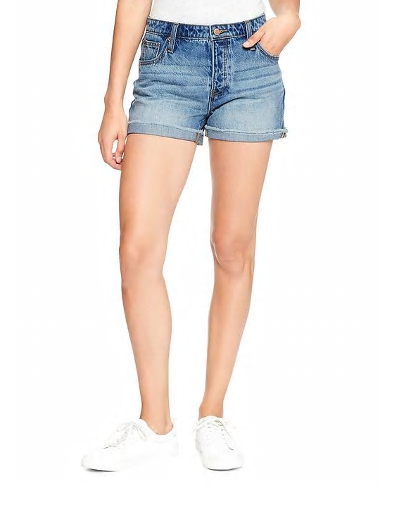 tanger outlets gap cut off shorts
