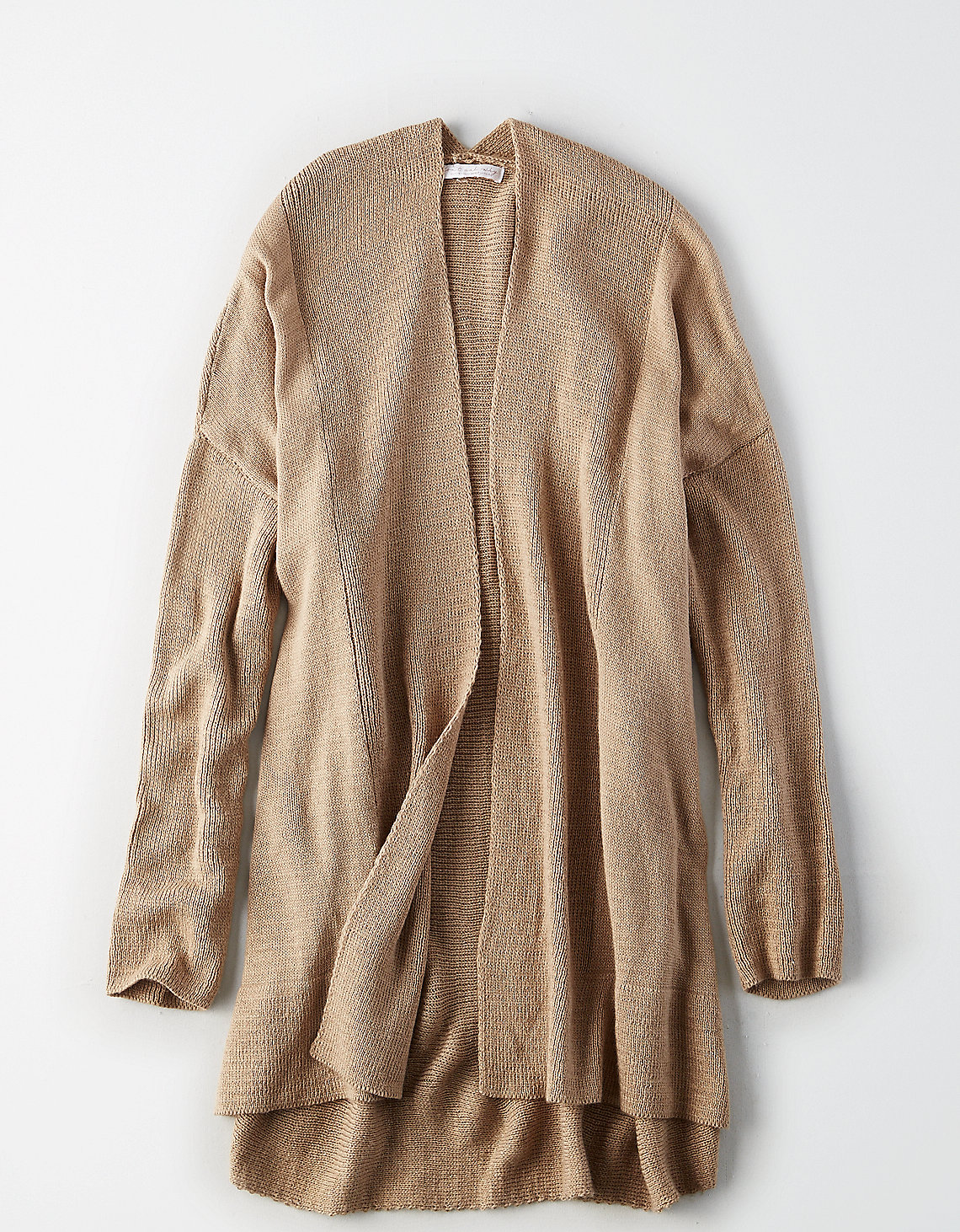 tanger outlets american eagle oversized beige cardigan