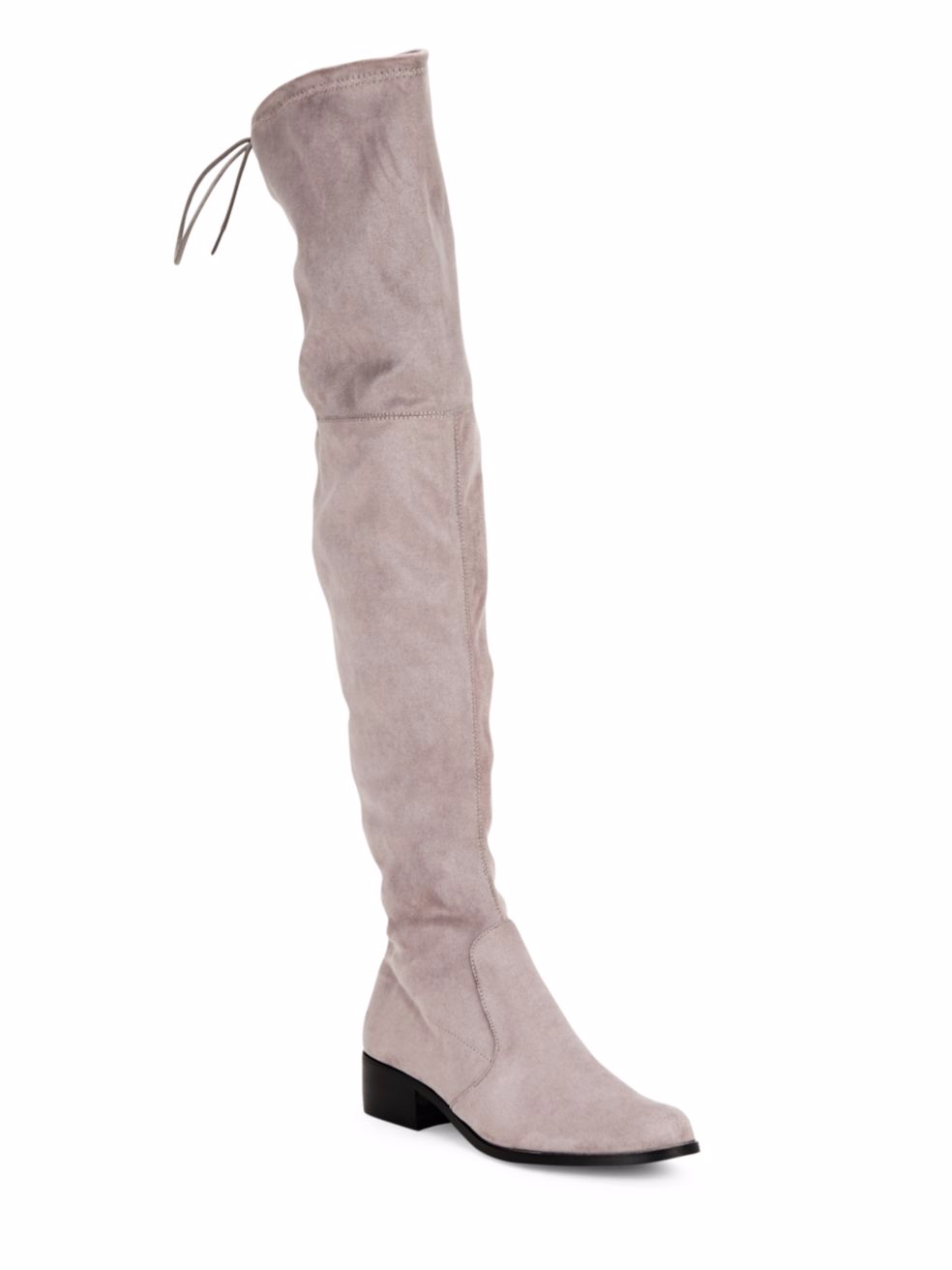 tanger outlets saks off fifth taupe over the knee boots